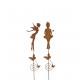 Metal plug 'sorceress', 2 designs assorted